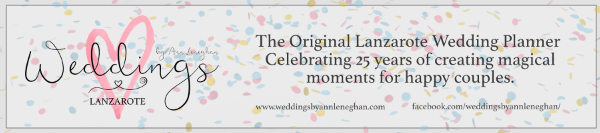 Lanzarote Wedding Planner. 25 Years of creating magical moments for couples