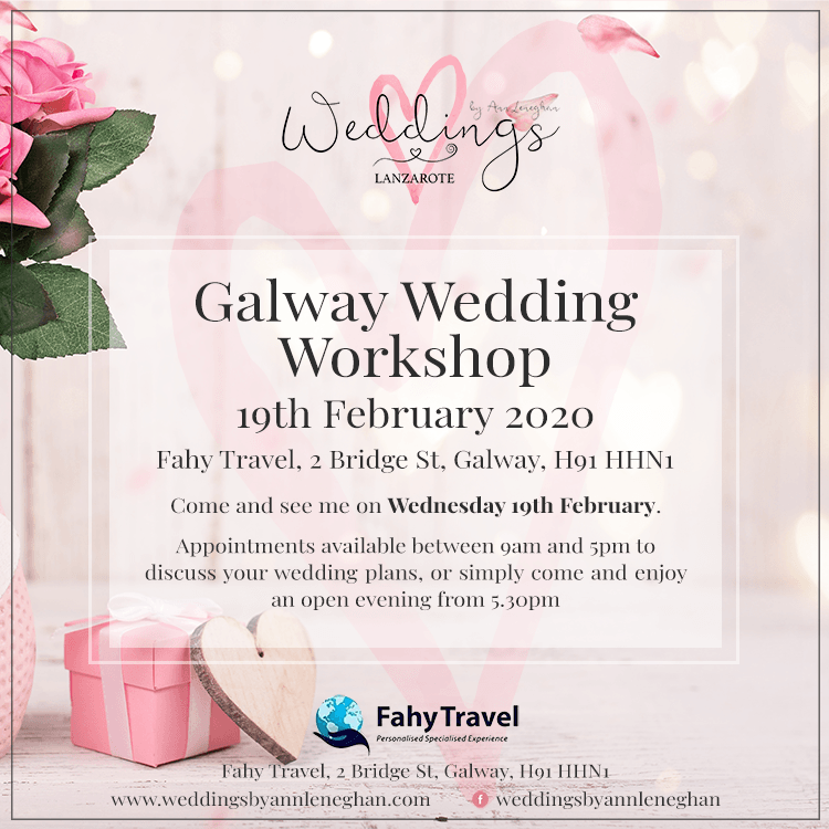 Lanzarote Wedding Planner Workshops
