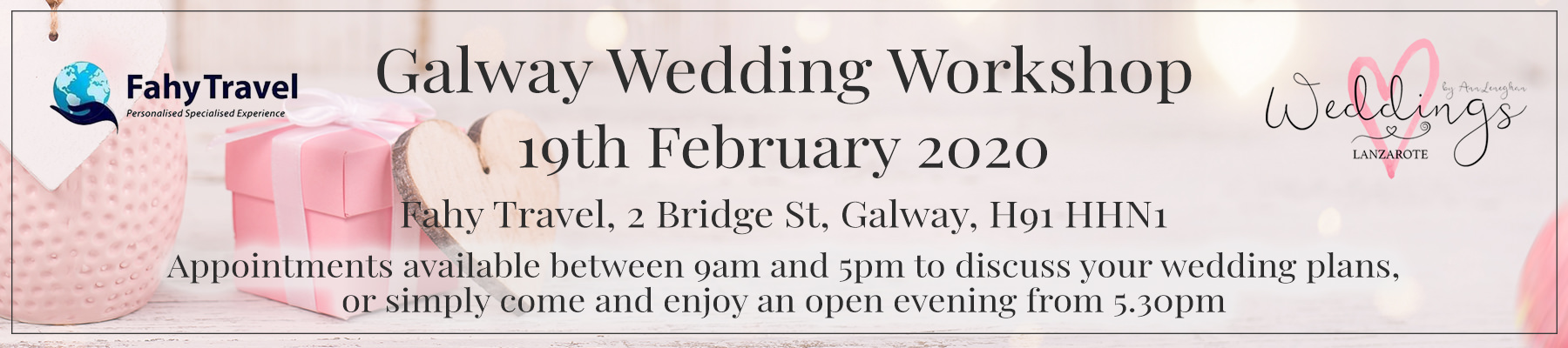 Lanzarote Wedding Planner Galway Wedding Workshop